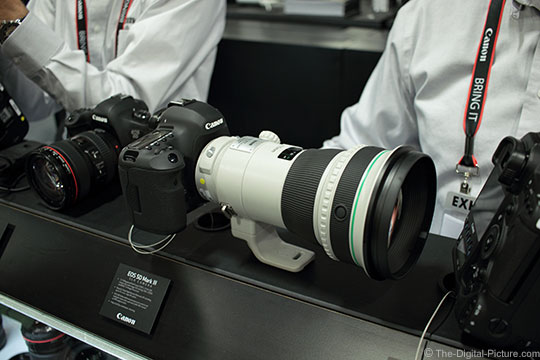 Imaging USA 2015 Canon Booth EF 400mm DO IS II USM