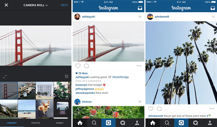 Instagram Announces Portrait and Landscape Photos