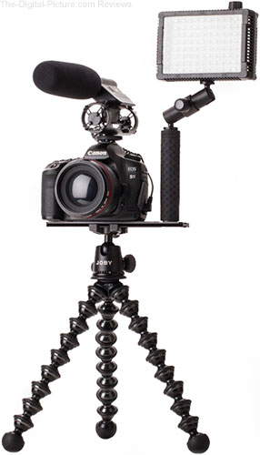 Joby HandGrip UltraPlate208 for Video Setup