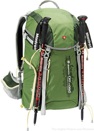 Manfrotto Off Road Hiking Backpack with Hiking Sticks