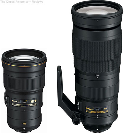 Nikon 300mm f/4E PF ED VR & 200-500mm f/5.6E ED VR In Stock at B&H