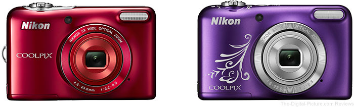 Nikon COOLPIX L32 and L31