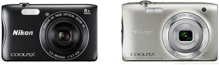 Nikon Announces COOLPIX S3700/S2900