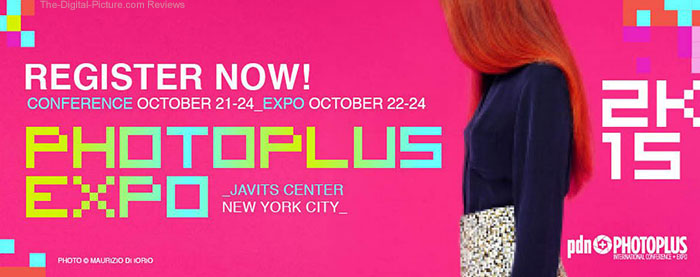 PhotoPlus Expo 2015 Registration Now Open