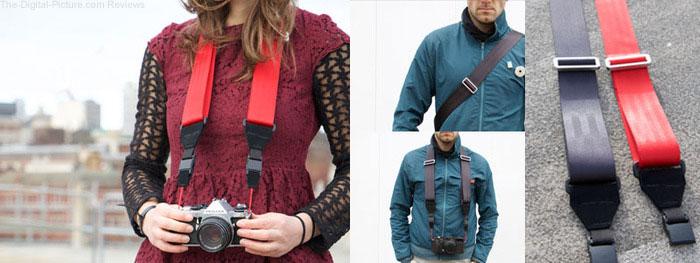 Restrap Shoot Camera Strap via Kickstarter