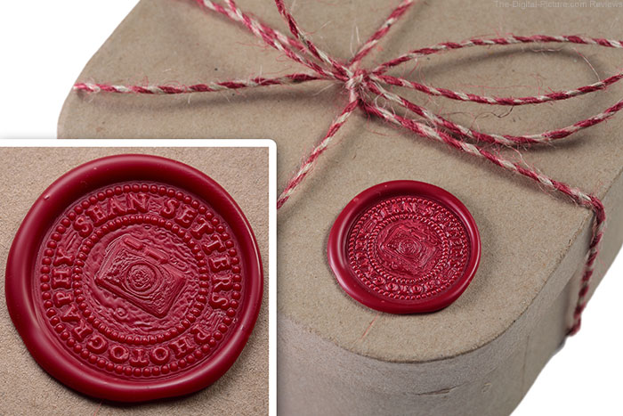 Sean Setters Photography Wax Seal on Box