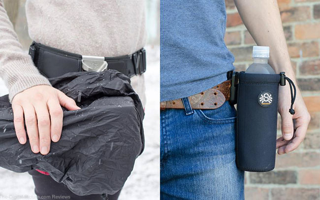 Spider Holster Announces Rain Cover and Water Bottle Holder Accessories