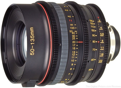 Tokina Announces Cinema AT-X 50-135mm T3.0 Lens with PL Mount