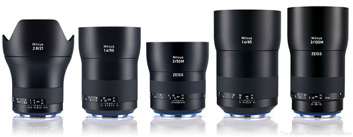 ZEISS Milvus DSLR Lenses