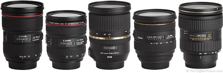 24-70mm Lens Comparison