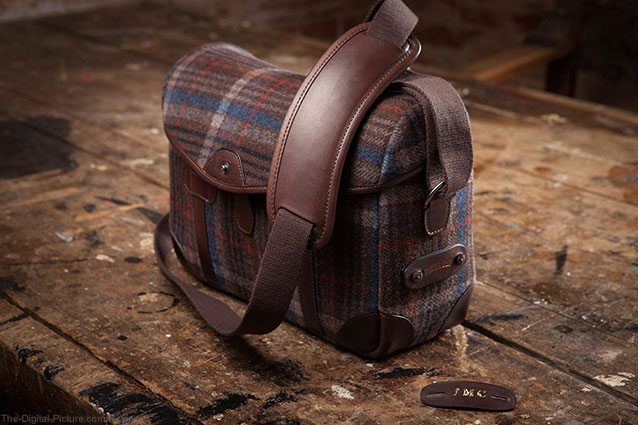 Barber Shop Bags Introduces Tweed Pageboy Messenger Bag