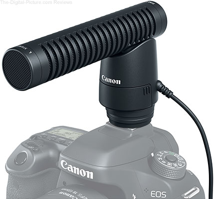 Canon Directional Stereo Microphone DM E1
