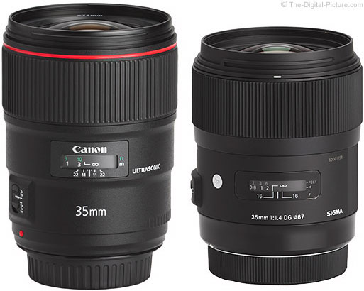 Should I Get the Canon EF 35mm f/1.4L II USM or the Sigma 35mm f/1.4 DG HSM Art Lens?
