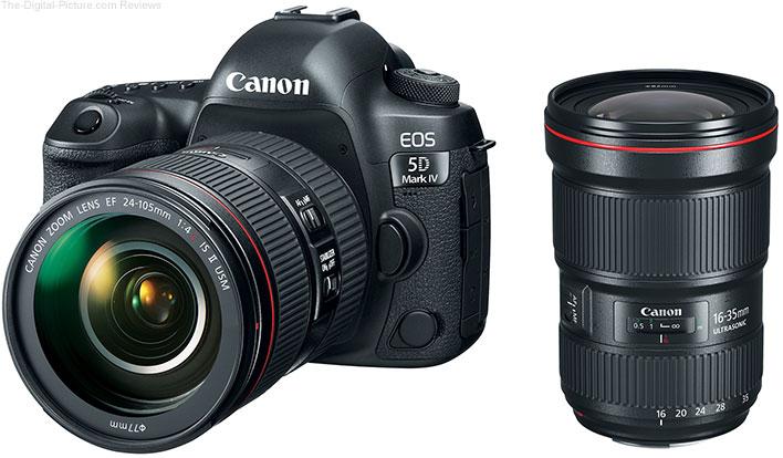 Canon EOS 5D Mark IV with EF 24-105mm f/4L IS II USM and EF 16-35mm f/2.8L III USM