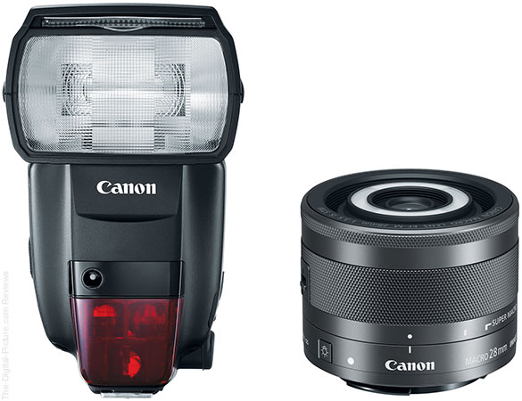 Canon Speedlite 600EX II-RT and EF-M 28mm f/3.5 Macro IS STM