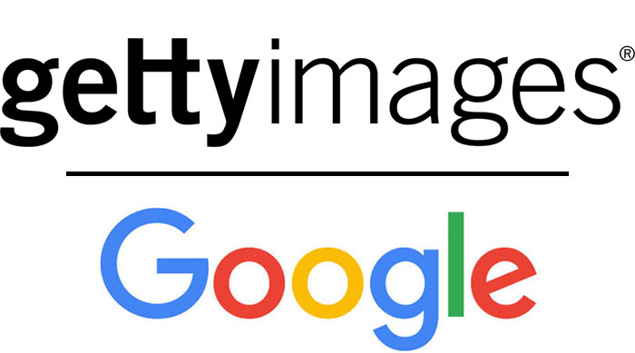 Getty Images and Google Logos