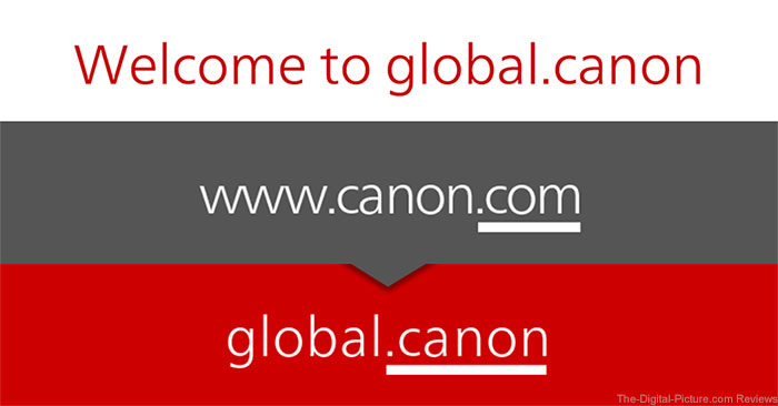 canon.com becomes global.canon