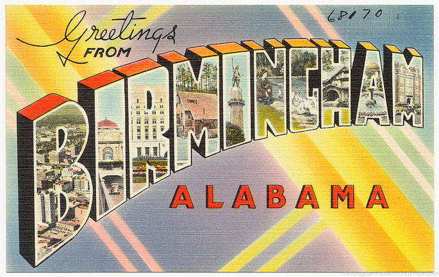 Greetings from Birmingham, Alabama (Boston Public Library)