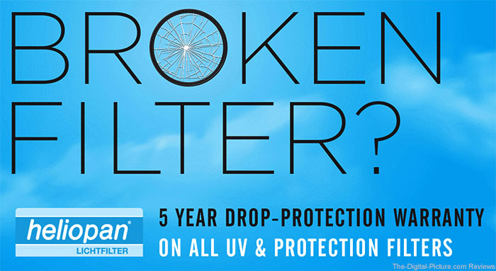Heliopan Warranty Now Offers Free Broken Filter Replacement