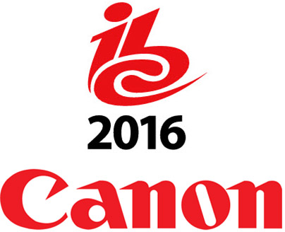 IBC 2016 and Canon Logos