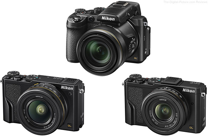 Nikon Announces New DL Premium Compact Cameras