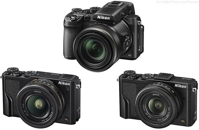 Nikon DL Premium Compact Cameras
