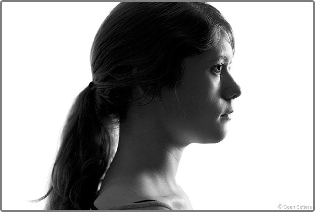 Profile Portrait with Public Domain Image Base