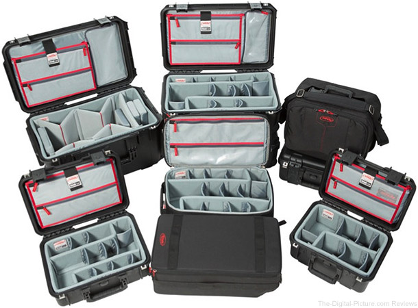SKB Cases with Think Tank Photo Interiors