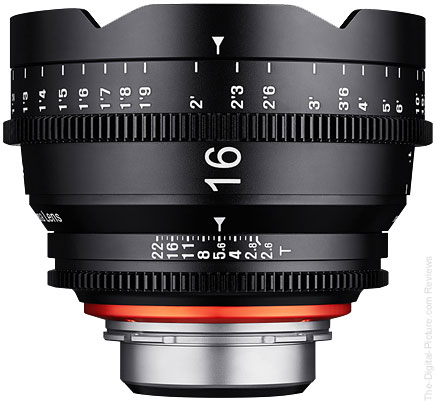 Samyang Introduces XEEN 16mm T2.6 Cinema Lens