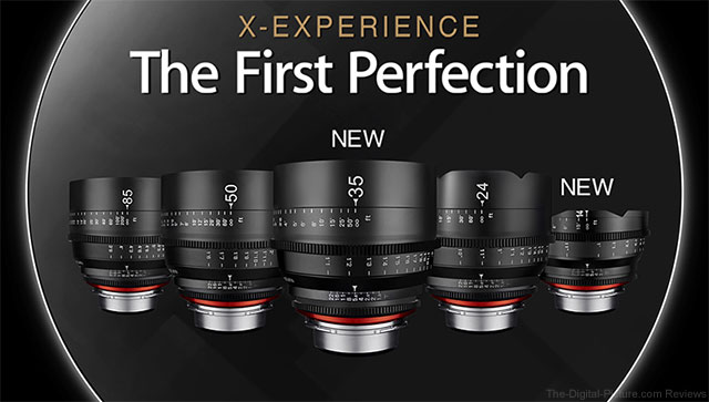 Samyang to Release 14mm & 35mm XEEN Lenses