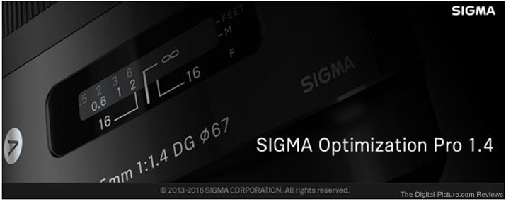 SIGMA Optimization Pro 1.4 Splash Screen