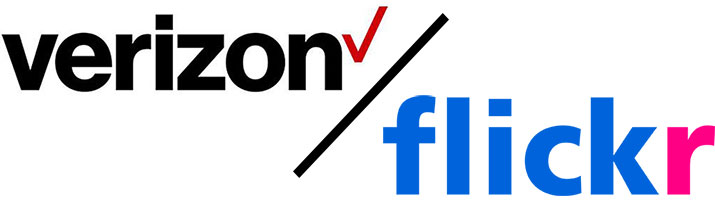 Verizon Flickr Logos