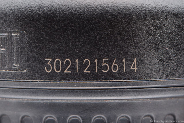 Updated: Determining the Age of a Canon Lens Using Serial