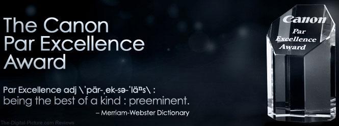 Canon Par Excellence Award
