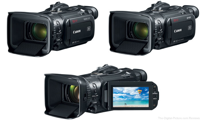 Canon Camcorder Announcements - September 12, 2017