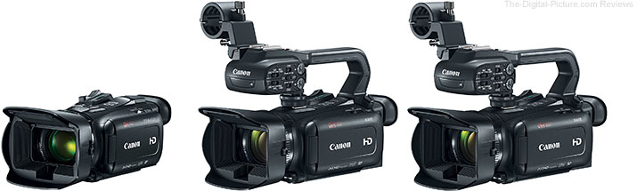 Canon VIXIA HF G21, XA11 and XA15 Camcorders