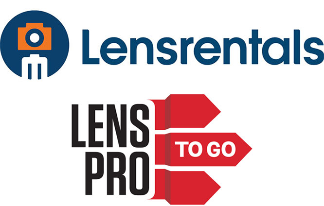 LensRentals and LensProToGo Logos