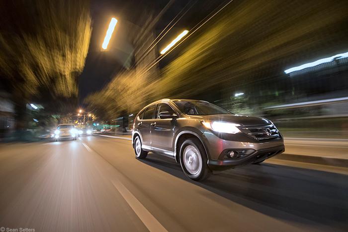 RigWheels RigMount X4 Captures Honda CRV