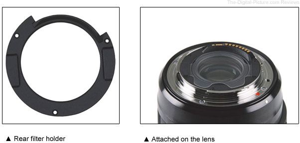 Sigma Developing Rear Filter Holder for 14mm Art Lens