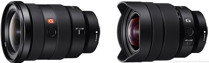 Sony FE 16-35mm F2.8 GM & 12-24mm F4 G Lenses