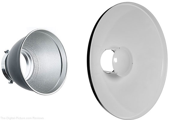 Standard Reflector and Beauty Dish