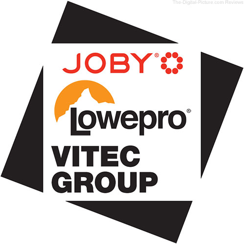 Vitec Group Logo with JOBY and Lowepro Logos