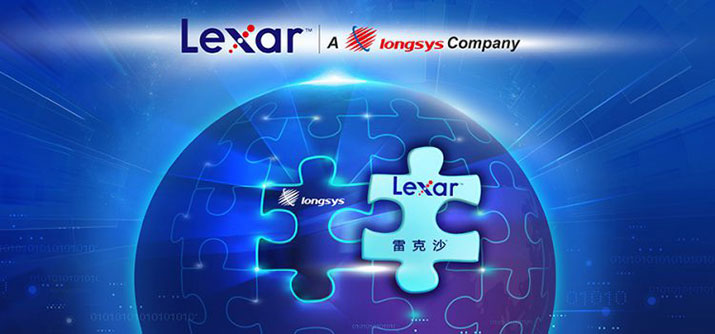Chinese Flash Storage Provider Longsys Acquires Lexar Brand