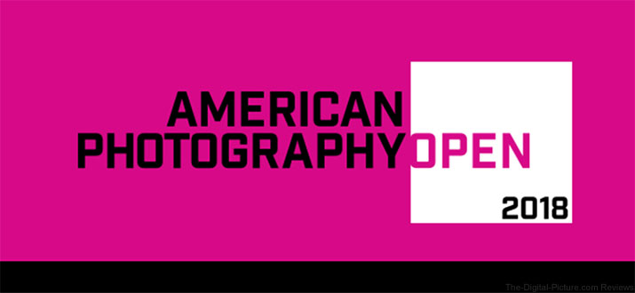 American Photography Open 2018 Banner