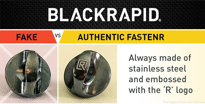 BlackRapid Warns of Counterfeit FR-3/FR-5 FastenRs