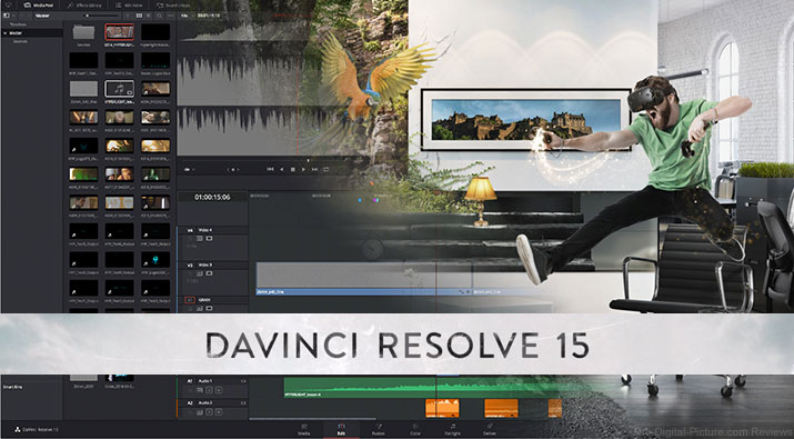 Blackmagic Design Announces DaVinci Resolve 15