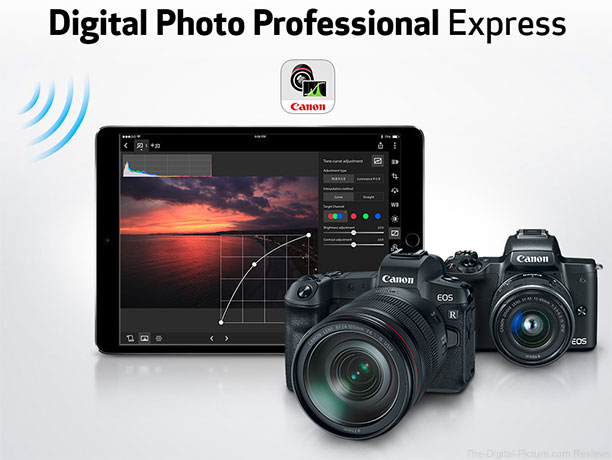 Canon Releases Digital Photo Professional Express for iOS
