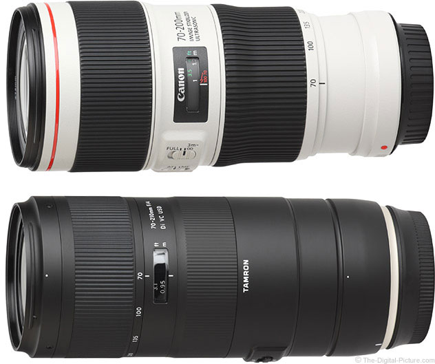 Should I Get the Canon EF 70-200mm f/4L IS II USM or Tamron 70-210mm f/4 Di VC USD Lens?