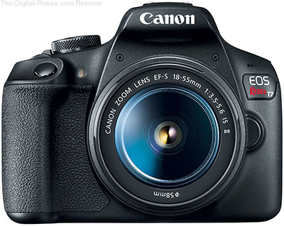 Canon EOS Rebel T7 Front