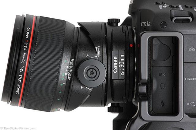 Canon TS-E 90mm f/2.8 Macro Tilted